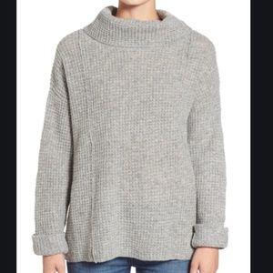 NWT Free People Sidewinder Oversized Cowl Sweater